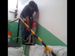 Extracción de núcleos de concreto